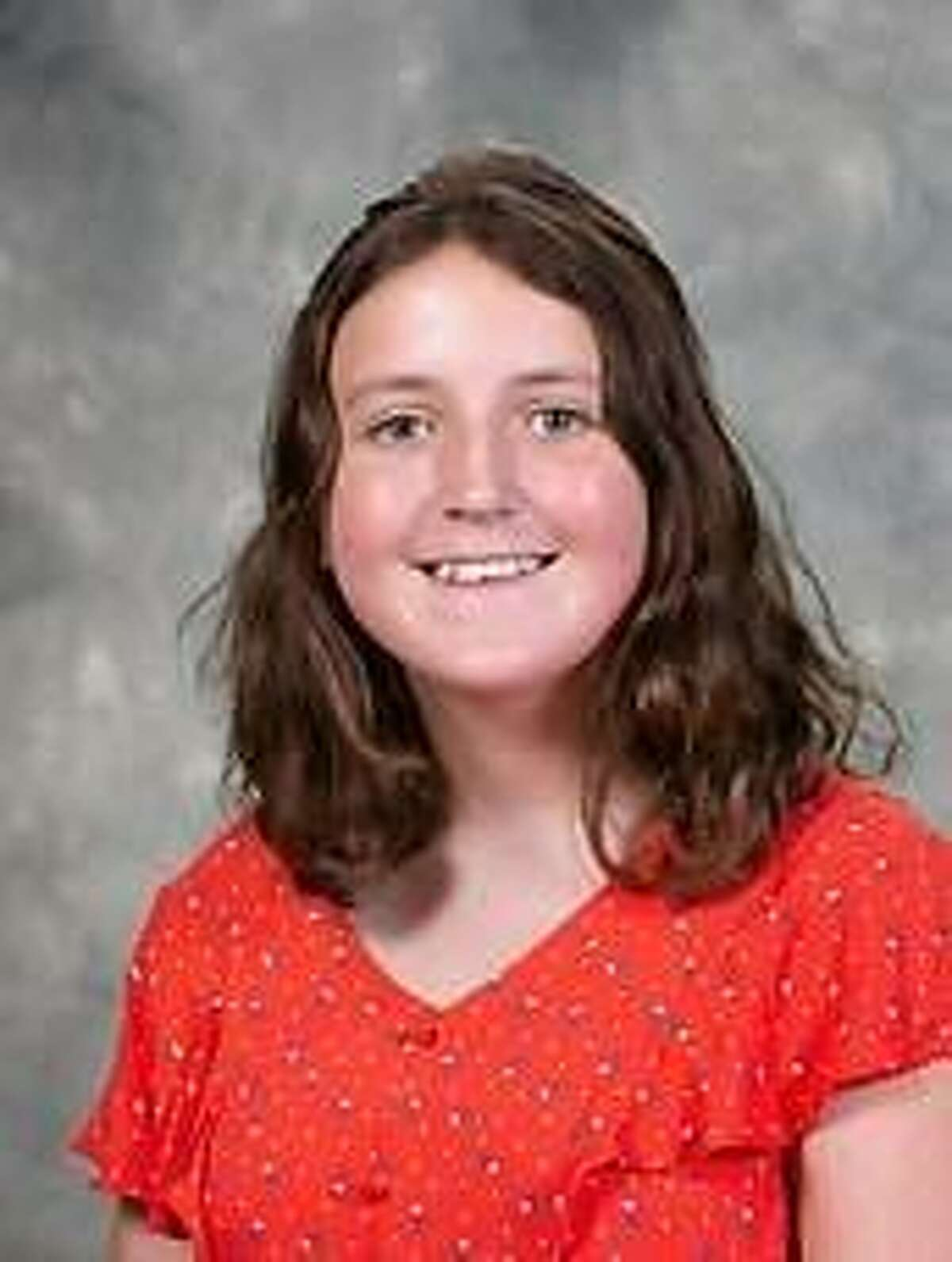 Olivia Terzian, Alana Budrewicz, pictured here, Timothy Donovan and Zanjas Crapo were recently recognized by the Connecticut Association of Boards of Education with a Student Leadership Award.