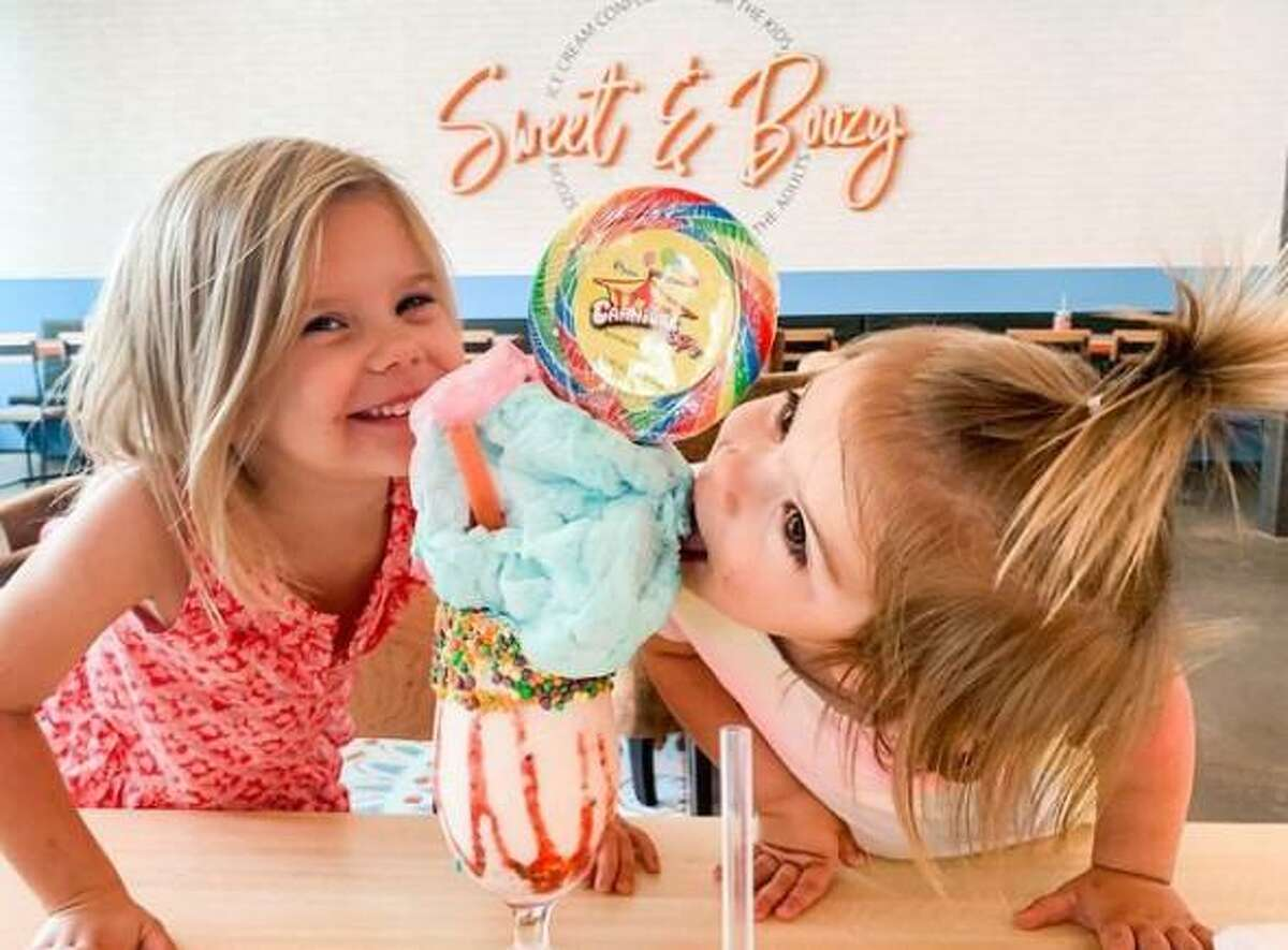 """Sweet & Boozy offers creamy ice cream for kids and """"booze-infused"""" ice cream for adults."""