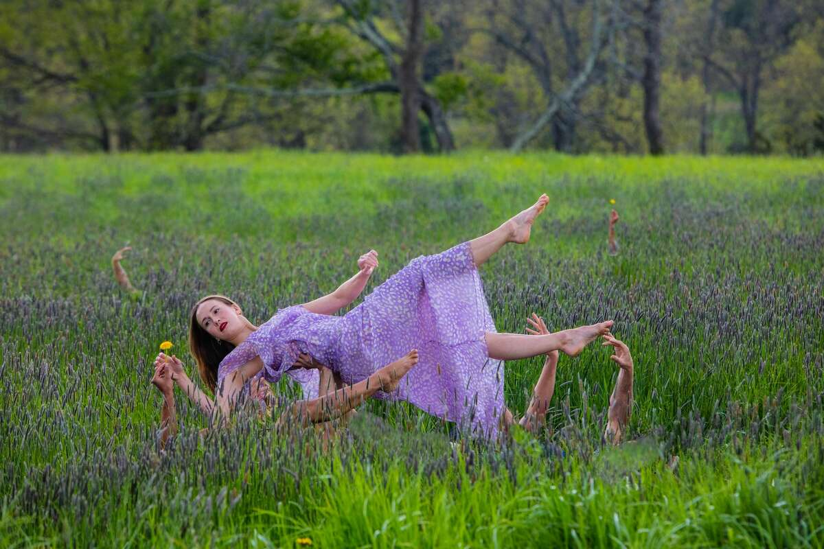 """Pilobolus will hold their drive through performance of """"Bloom: A Journey"""" July 21-25 in Bridgewater."""