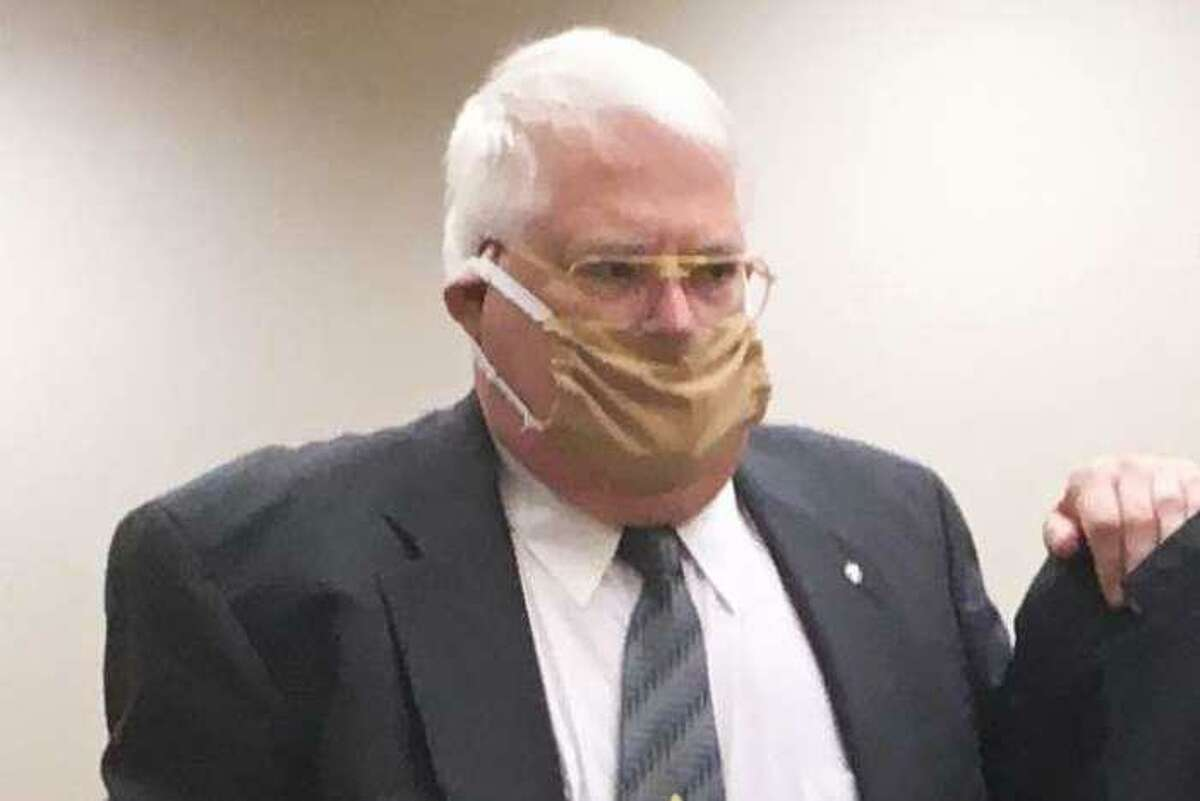 Richard Commaille at state Superior Court in Waterbury on June 10, 2020.