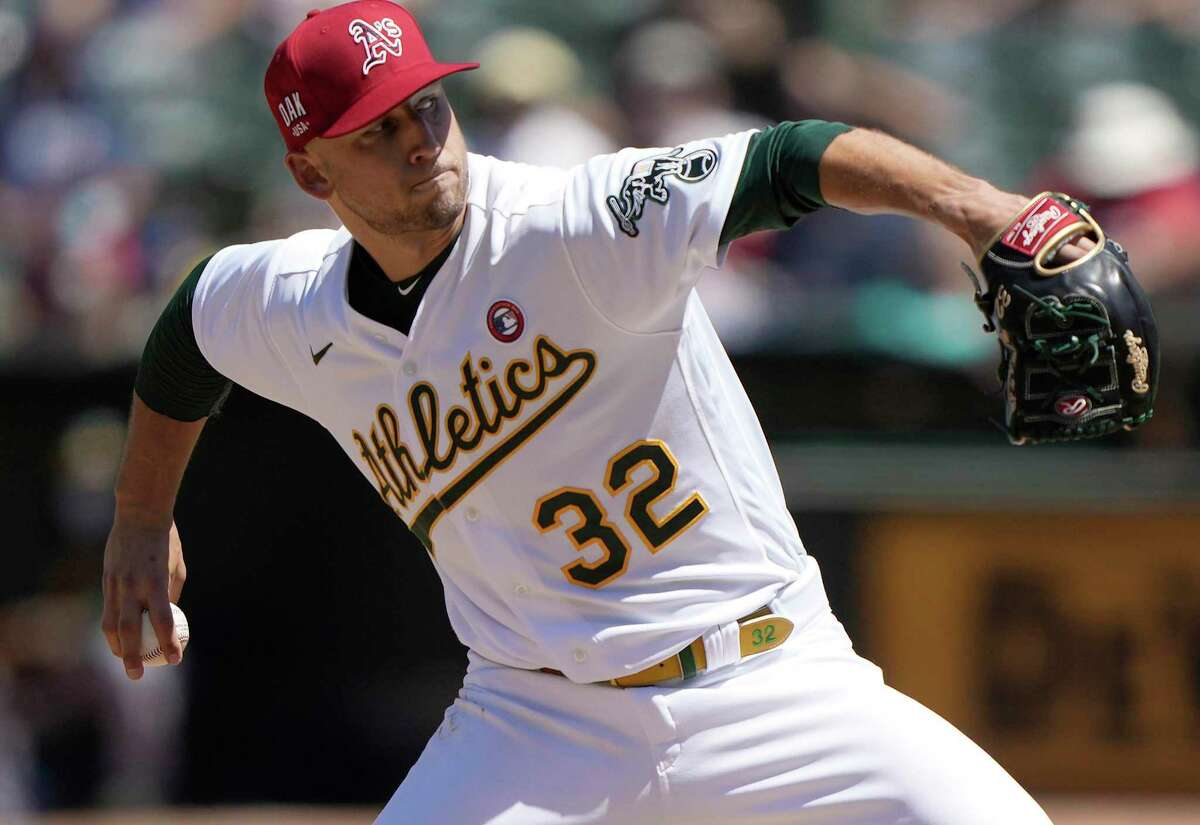James Kaprielian is scheduled to start for the A's when they take on Texas at 1 p.m. Saturday (NBCSCA, FS1/960).