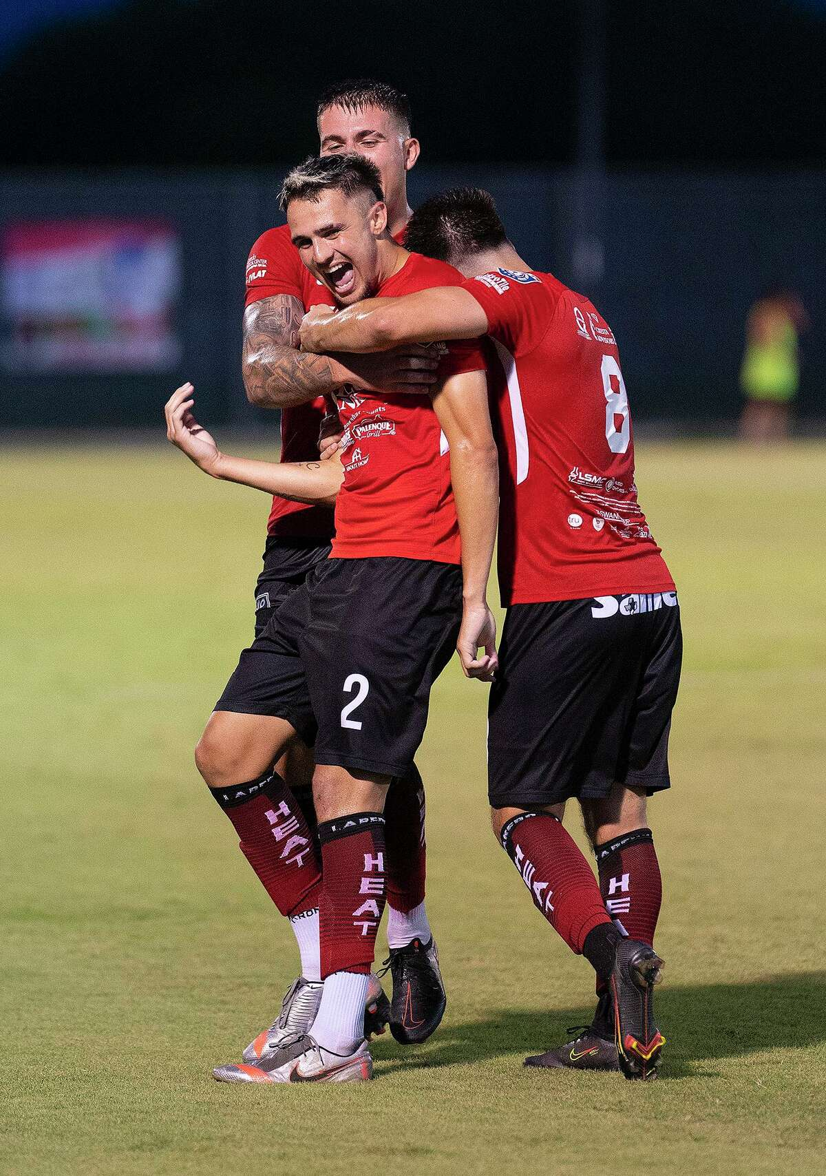 Gabriel Claudio scored the lone goal on June 30 in the Heat's 1-0 victory over Katy 1895 FC at the TAMIU Soccer Complex.