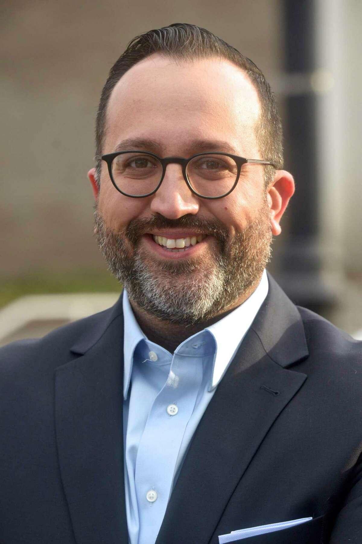 Democrat Roberto Alves announced he is running for mayor of Danbury. Friday, January 8, 2021, in Danbury, Conn.