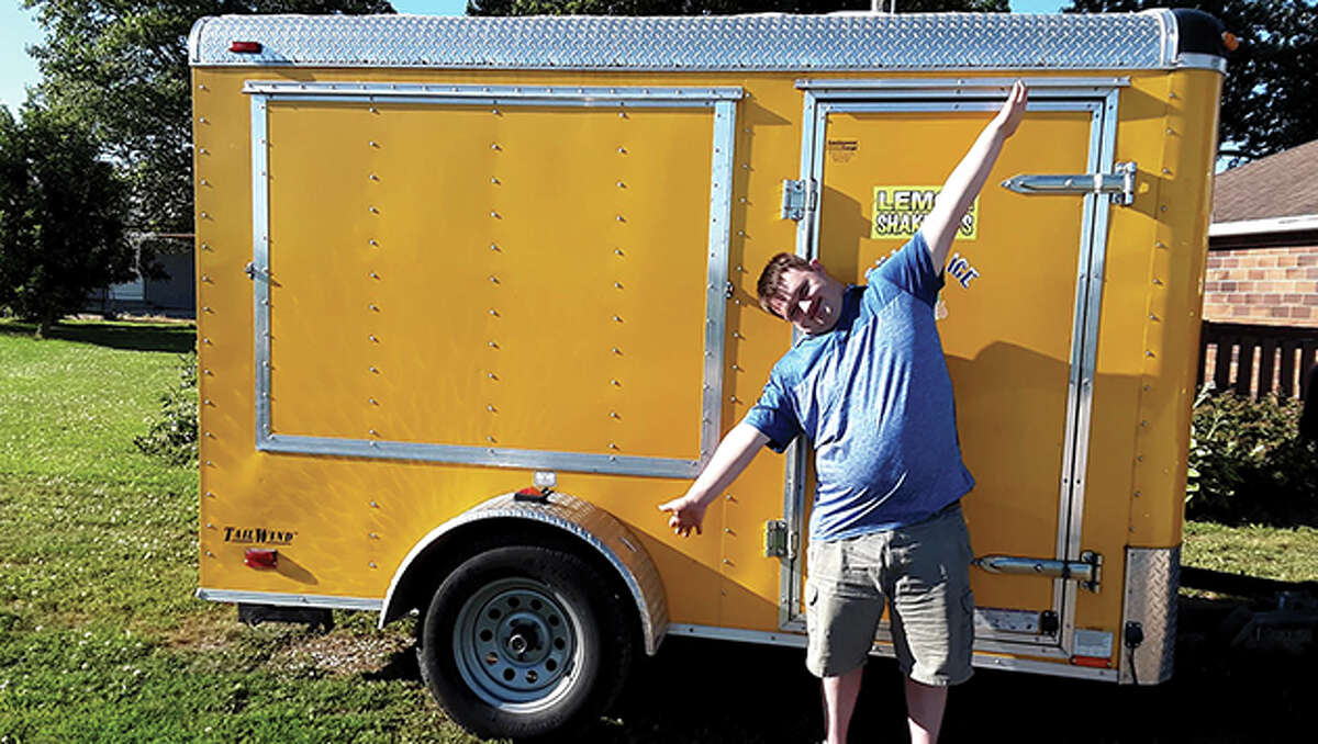 Isaac French, 22, who has Down syndrome, is opening Isaac's Coffee Shop in Arenzville. The permanent trailer at 212 W. Frederick St. is slated to open the first week of August.