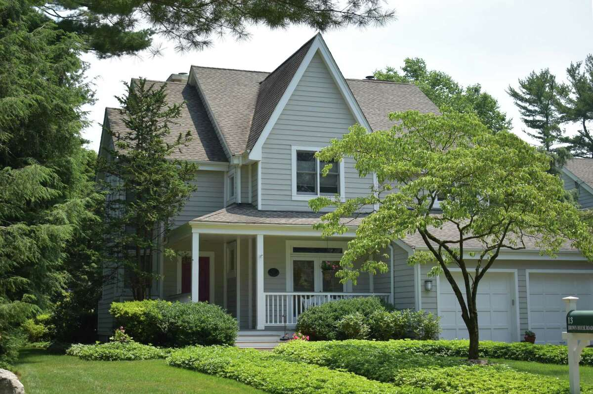 A Brown House Road home in Greenwich, Conn., on the market as of early July 2021 for $2 million.