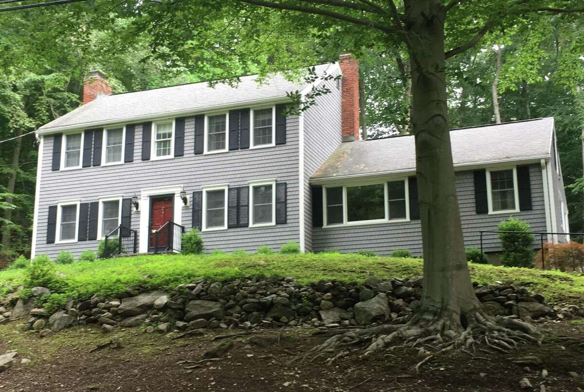 A Tersan Drive house in Easton, Conn., whose owner cut the price 5 percent three weeks after listing the property in mid-June 2021.