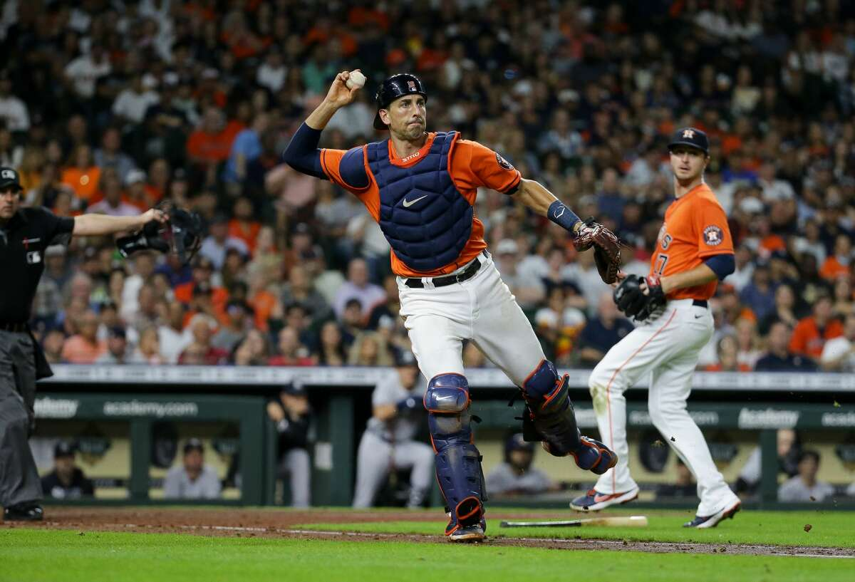 The Astros placed Jason Castro on the injured list Aug. 29 with soreness in his right knee.