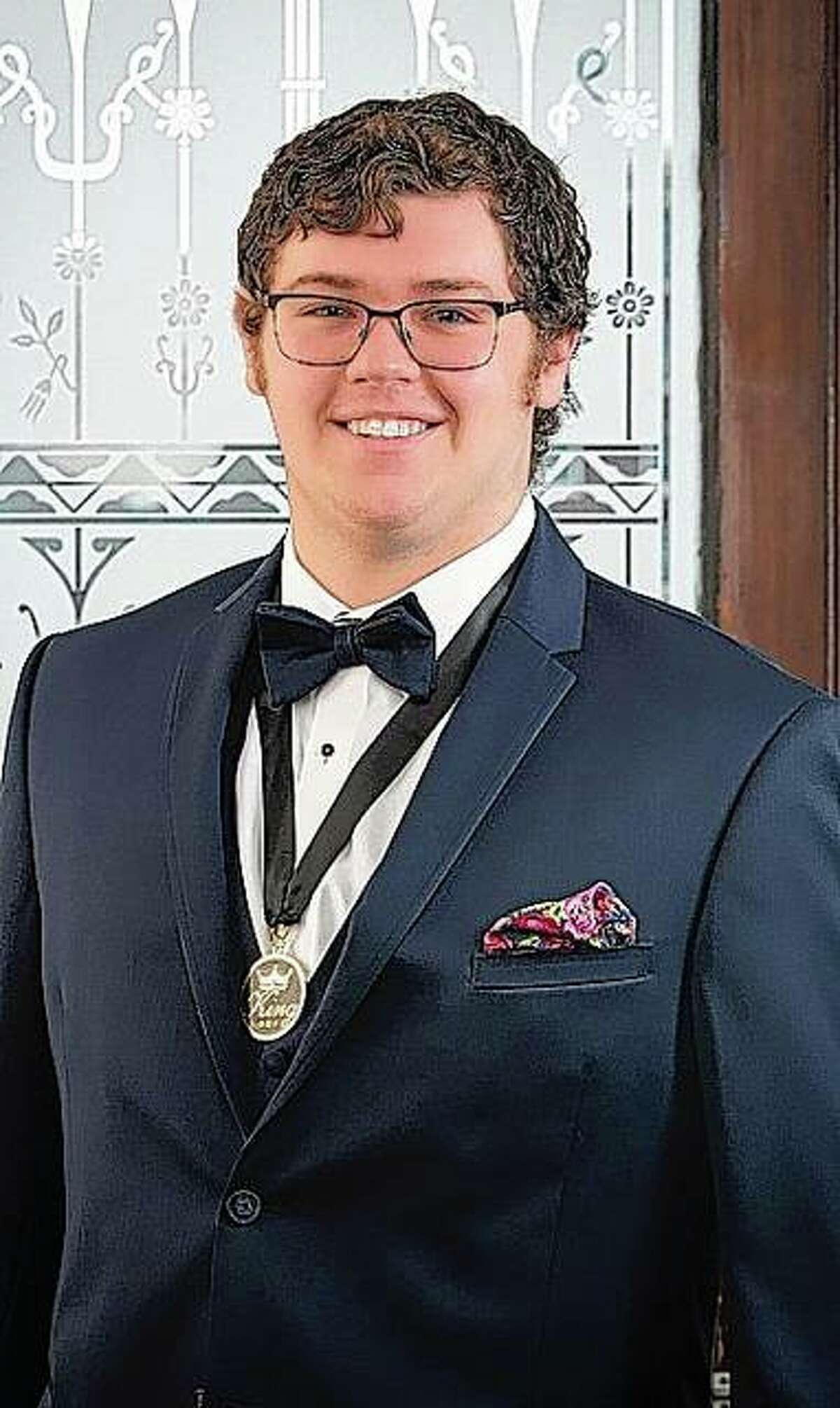 Owen Blackorby is the Art Association of Jacksonville's reigning Beaux Arts Ball king. He will relinquish his crown July 31.