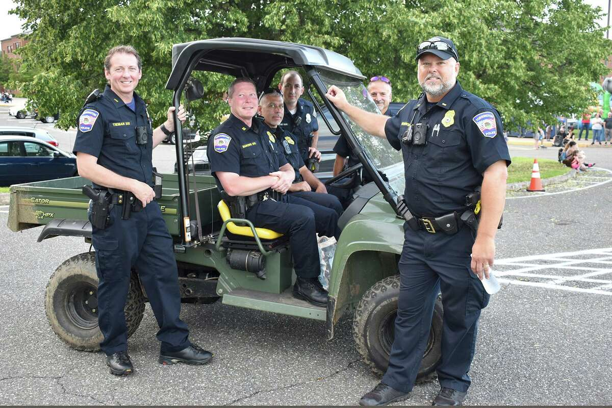 Torrington Parks and Recreation held a carnival and fireworks display Friday night at Torrington Middle School. The Torrington Police Department was on hand to help with parking and safety.