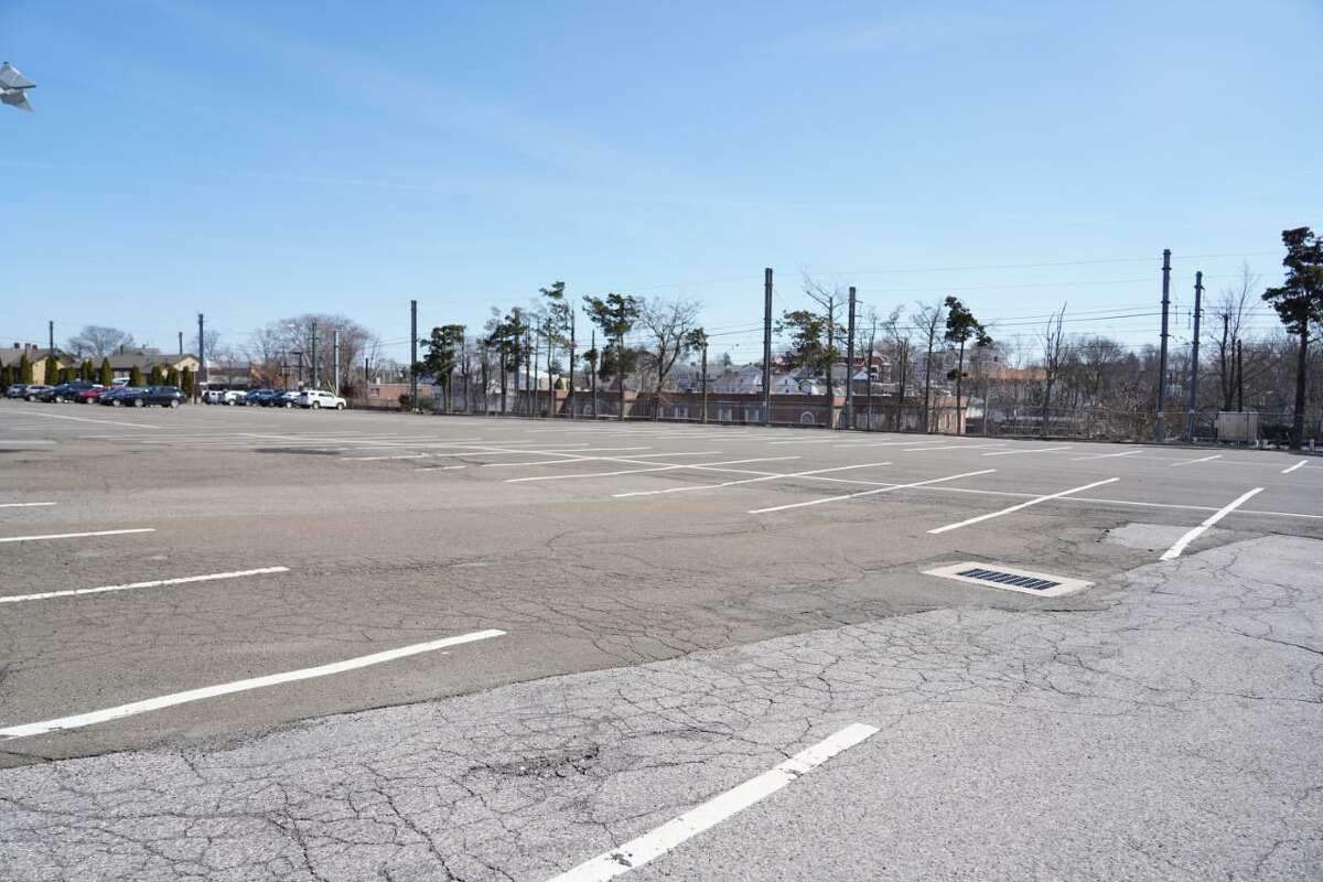 Parking permit renewals in New Canaan's commuter parking lots, such as Lumberyard Parking Lot, could still be affected by the residual effects of the coronavirus pandemic with less residents commuting, causing for a loss in revenue for the town's department.