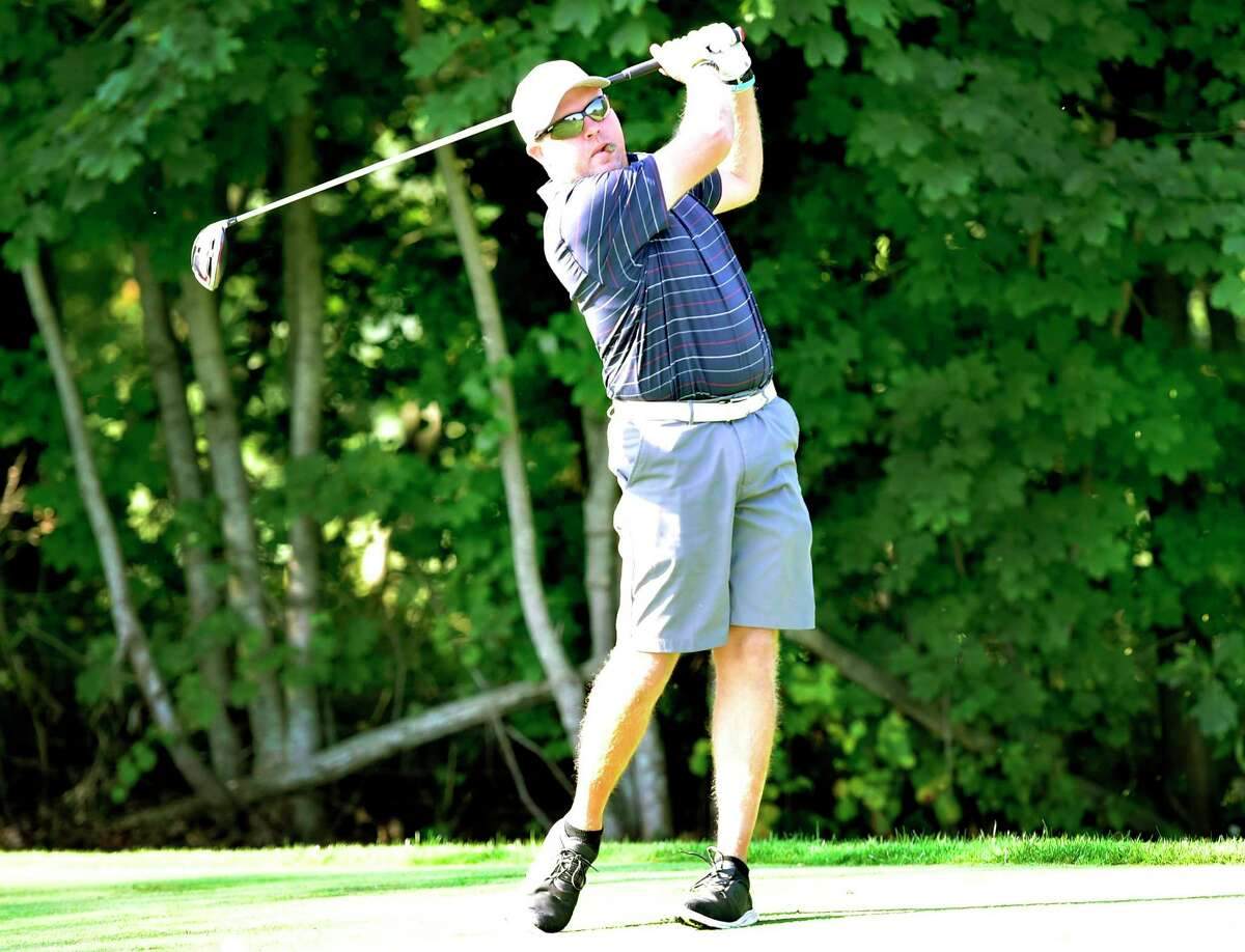 James Sheltman set the course record at Alling Memorial Golf Course with an 11-under-par round of 61 on Tuesday.