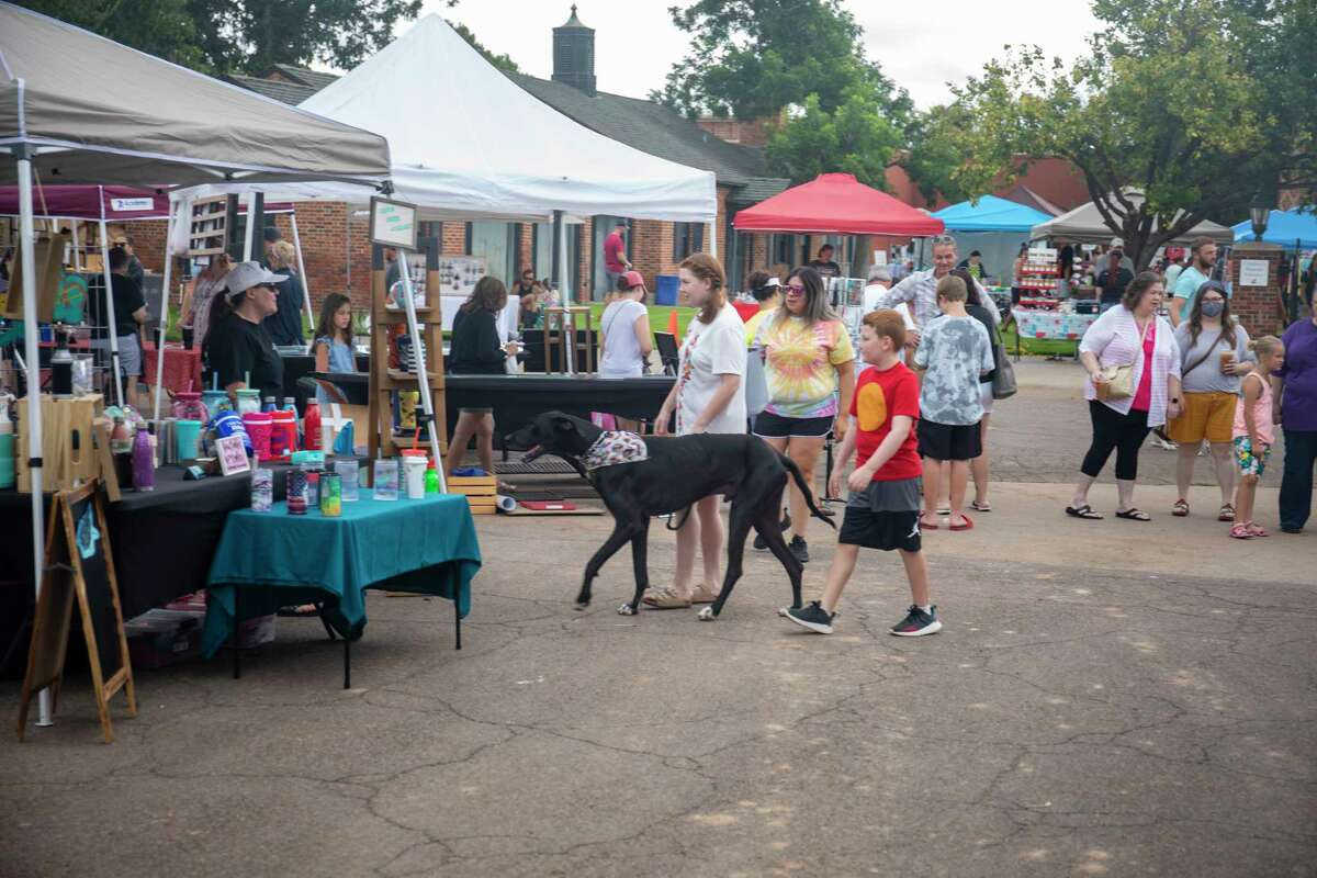 Scenes from the Downtown Farmers Market on Saturday, July 10, 2021 at the Museum of the Southwest. Jacy Lewis/Reporter-Telegram