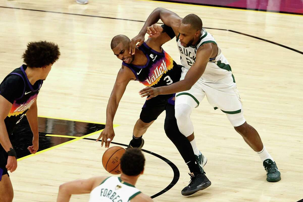 Few could've predicted during his time at A&M that Khris Middleton, who was mocked by one sports writer for turning pro early, someday would be tangling with Chris Paul in the NBA Finals.