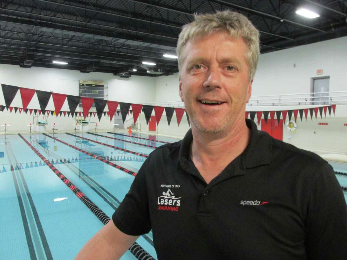 Coach Dave Steel has been the Northwest CT YMCA Laser head coach for nine years.