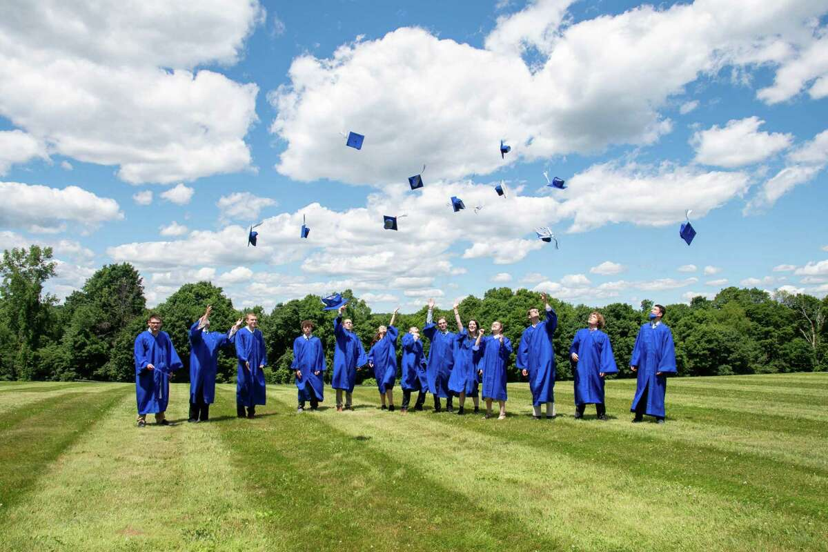 On a recent afternoon, 17 students graduated from the Glenholme School in Washington.