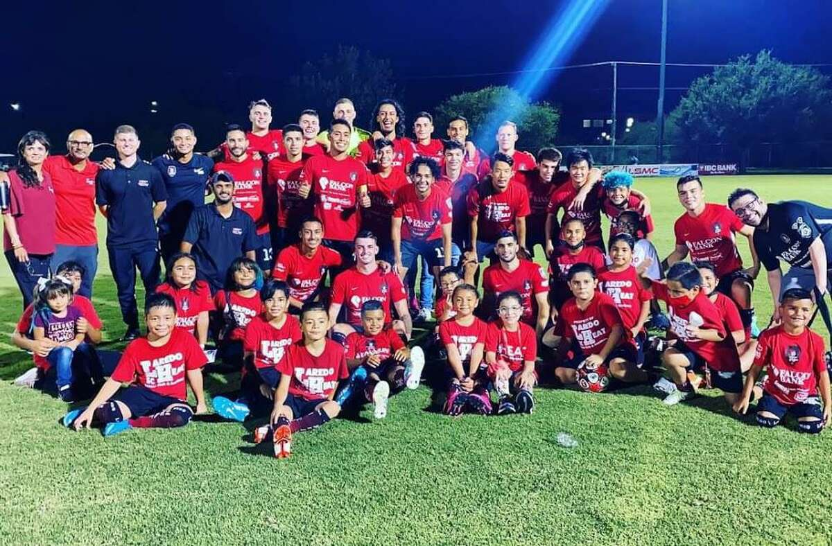 The Laredo Heat SC earned the No. 2 seed in the conference after winning 5-0 over the Temple Coyotes FC on Friday at the TAMIU Soccer Complex.