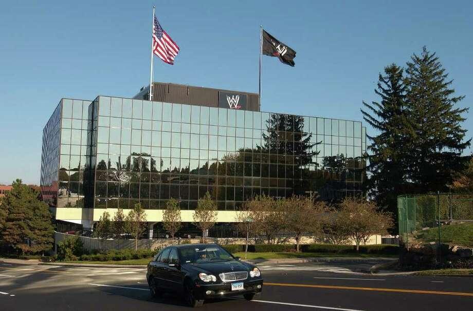 Stamford  WWE headquarters.  Photographer:  Daniel Acker/Bloomberg News Photo: Daniel Acker, Bloomberg News