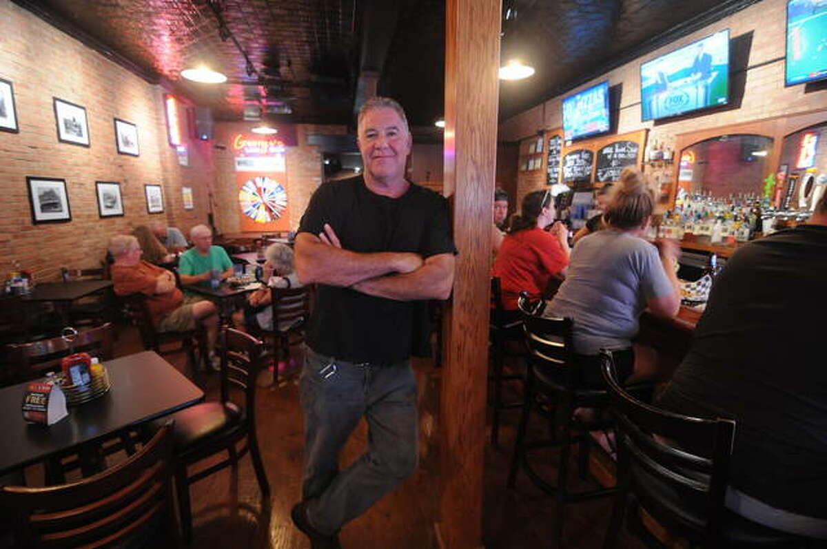 """George's Local Brew owner Chris Lorton in Jerseyville, a new Restaurant Week participant, noted that """"we are seeing increased traffic"""" because of expansion projects he accomplished during the COVID shutdown."""