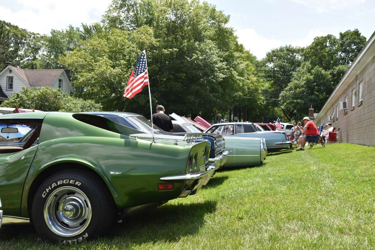 Rows of vehicles were on display at the Bear Lake Days Car Show on Saturday.