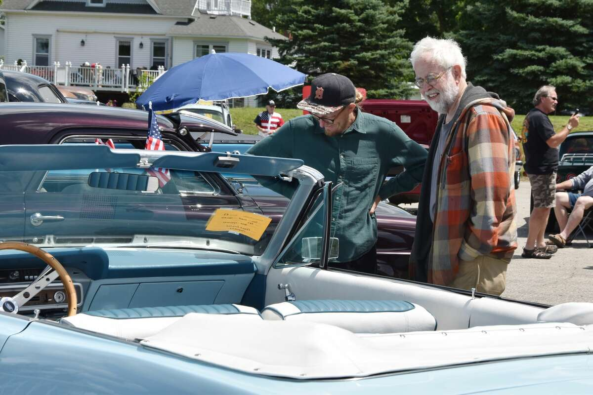 The Bear Lake Days car show took place at the corner of U.S. 31 and Maple Street in Bear Lake on Saturday.
