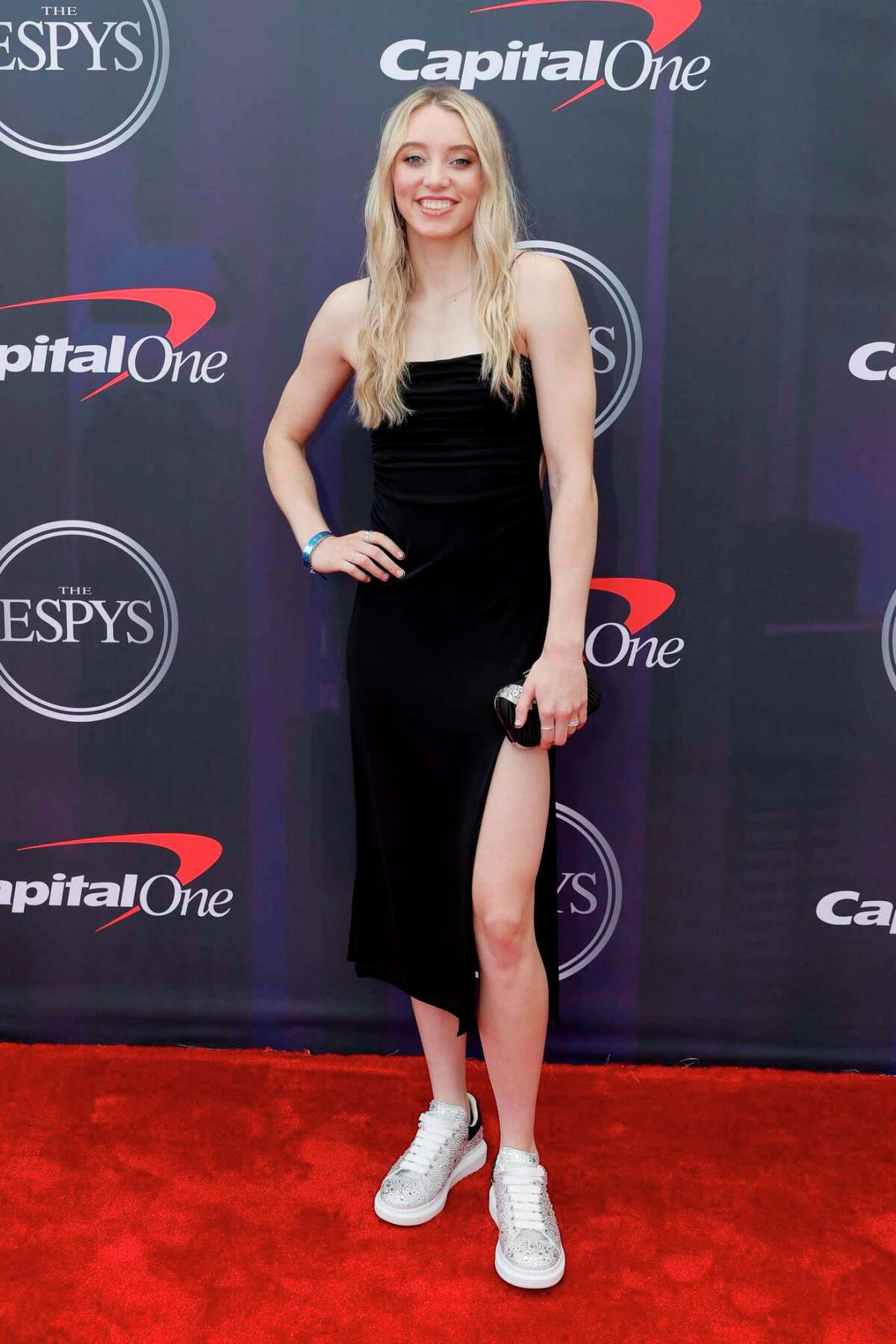 NEW YORK, NEW YORK - JULY 10: Paige Bueckers attends the 2021 ESPY Awards at Rooftop At Pier 17 on July 10, 2021 in New York City. (Photo by Michael Loccisano/Getty Images)