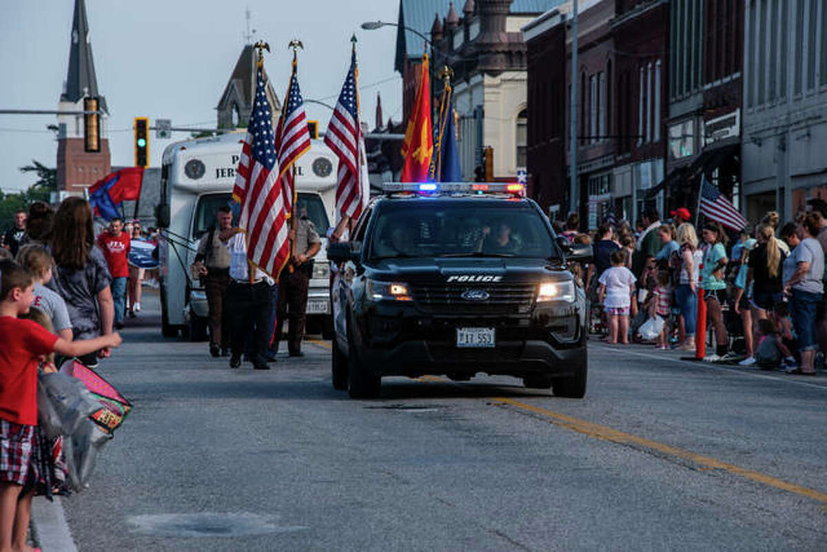 The Jersey County Fair Parade steps off Tuesday at 6 p.m. in downtown Jerseyville. The fair runs through Sunday.