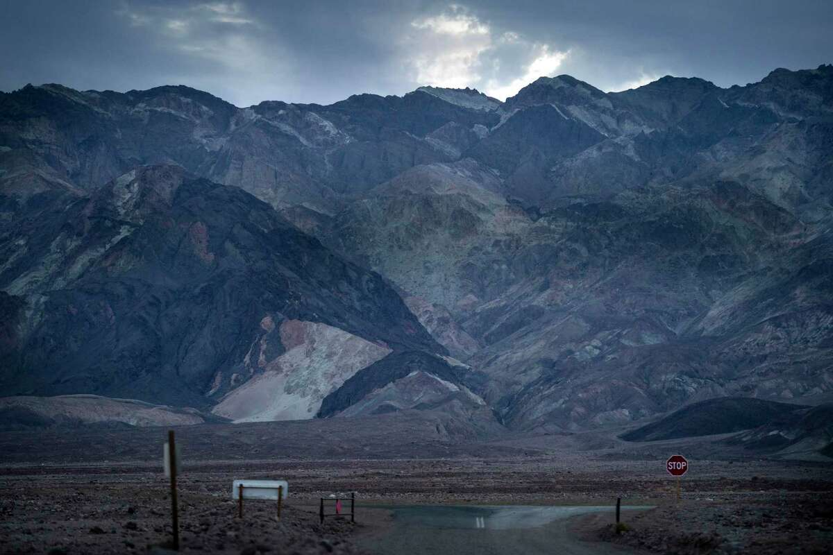 Badwater Basin in Death Valley National Park on Saturday.