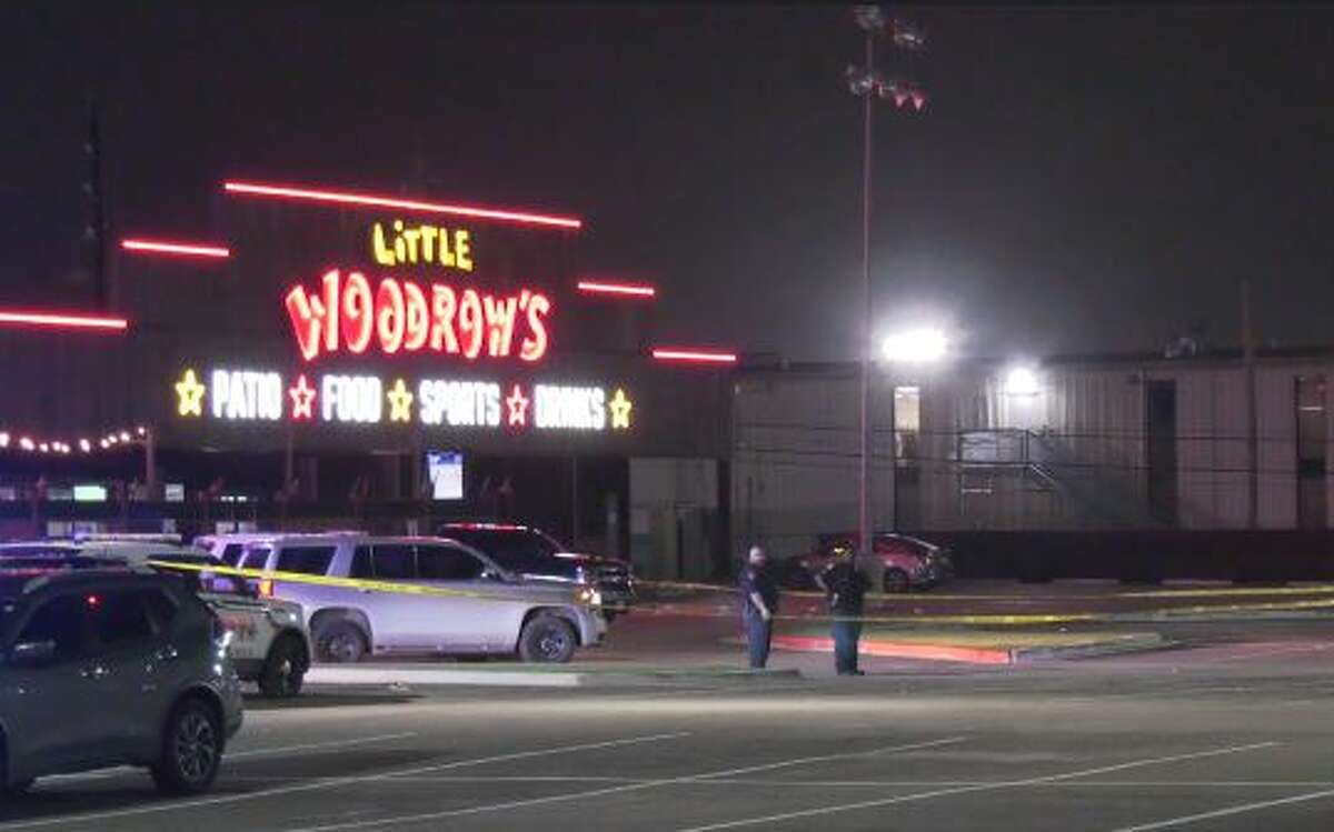 Two people were shot early Monday morning in the parking lot of the Little Woodrow's in Tomball, authorities said.