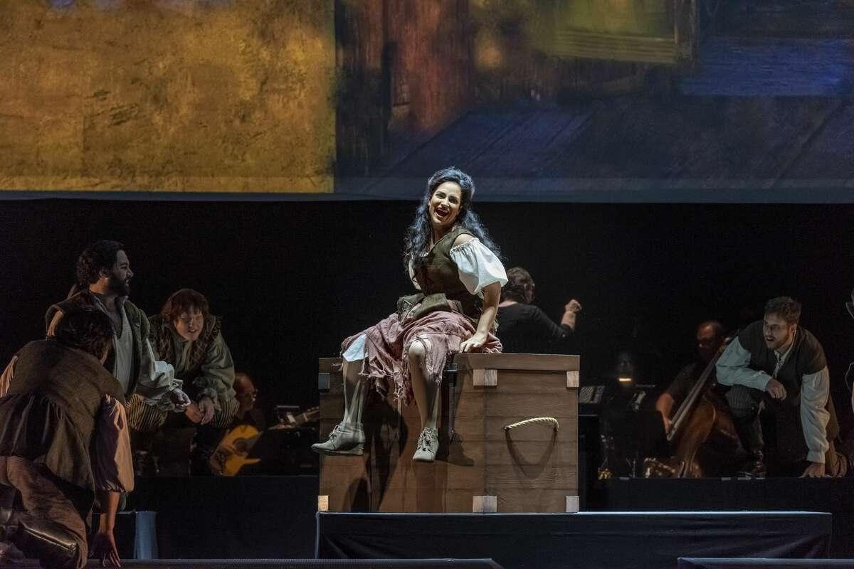 "Kelly Glyptis in ""Man of La Mancha"" at Opera Saratoga. (Gary Gold)"