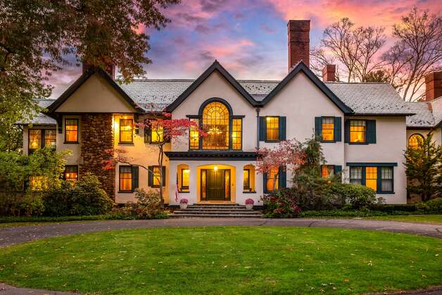 The 49 Mountain Spring Road home in Farmington, Conn. was designed by Peabody and Stearns architects, the Boston-based firm that built the original Breakers mansion in Newport, R.I. Photo: Corrado Galizia