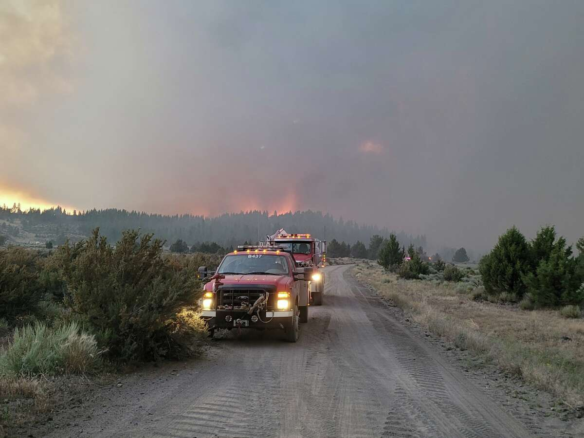 The Bootleg Fire is burning in Southern Oregon's Klamath County.
