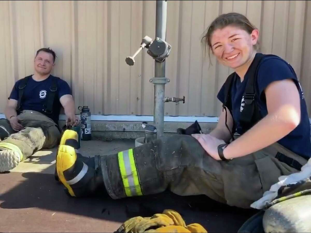 Missouri City resident Cierra Becker is a certified firefighter and emergency medical technician who has benefited from scholarships from The Folded Flag Foundation.
