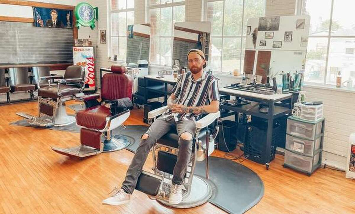 Noah Anderson has opened Anderson's Classic Barbershop, at 1320 Milton Road in Alton inside the old Milton school. Anderson says he has room for two more barbers, but is focusing on building the business first.