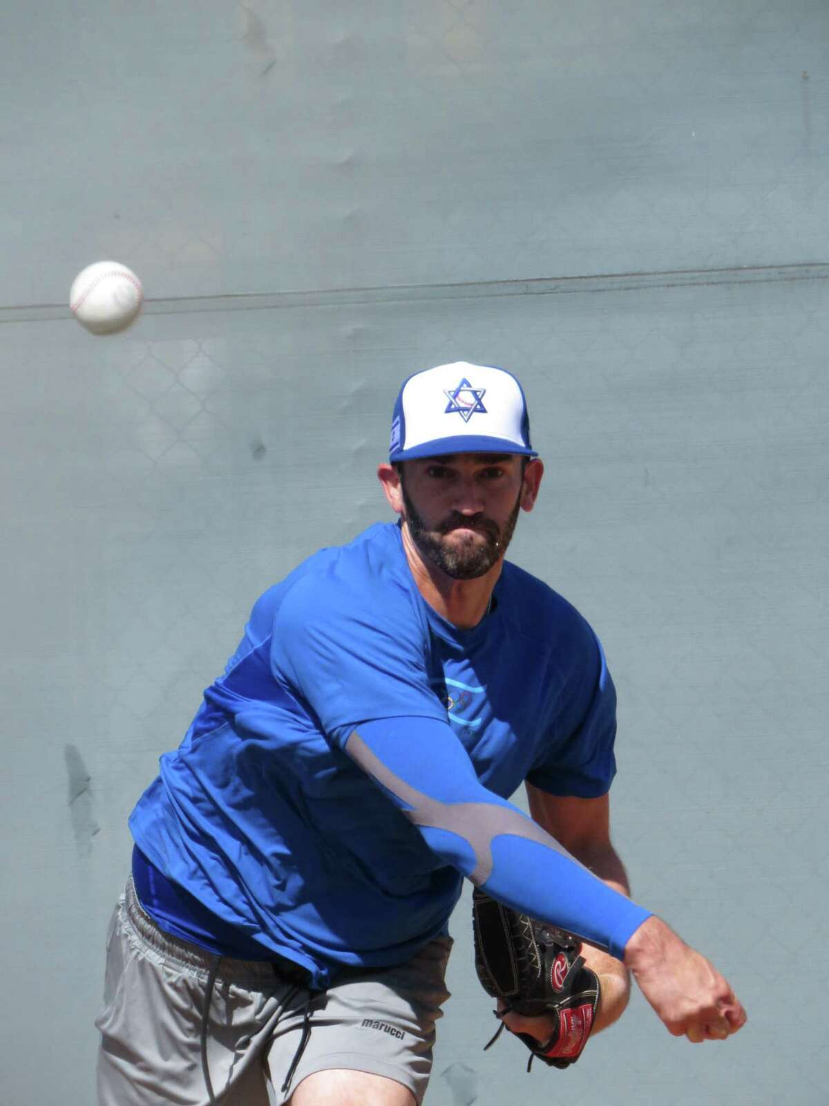 Josh Zeid has played for Team Israel since the team's inception in 2011. He came out of retirement from the MLB to play on its debut Olympic team this summer.