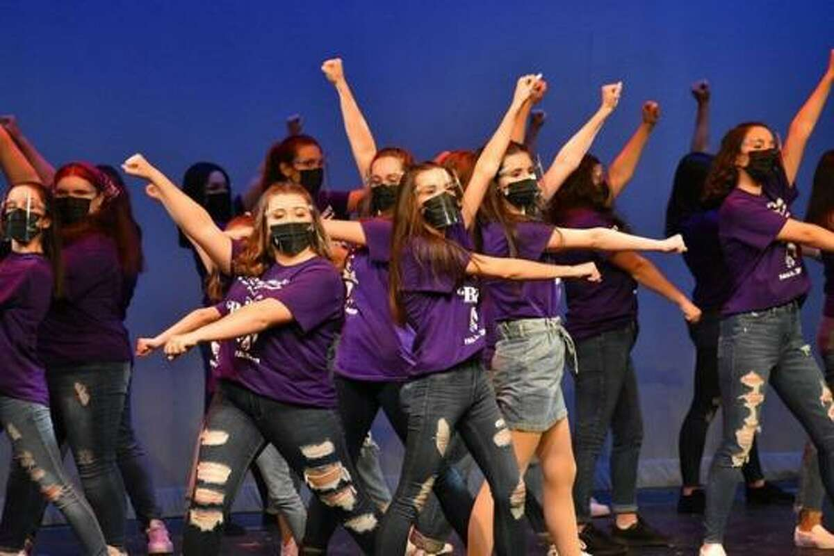 Broadway stars will be teaching at the Center Stage Theatre's upcoming summer program. Above is a photo from rehearsals for a past summer program performance.