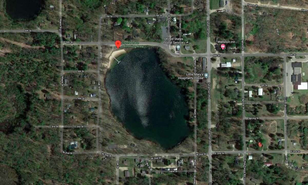 District Health Department #10testedthree water samples gathered at Crystal Lakefor bacterial levels. (Courtesy map)