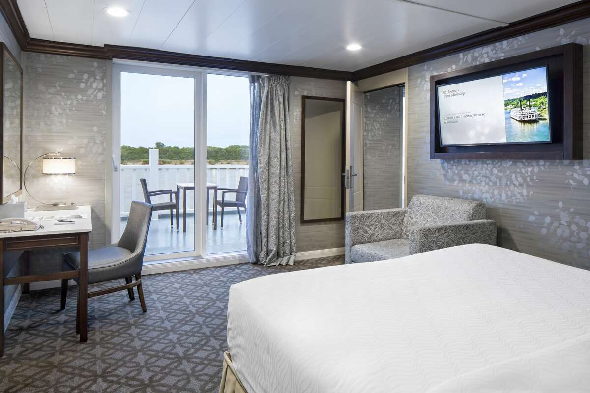 What a view! Couldn't you just lie down and watch the world go by aboard the American Duchess?