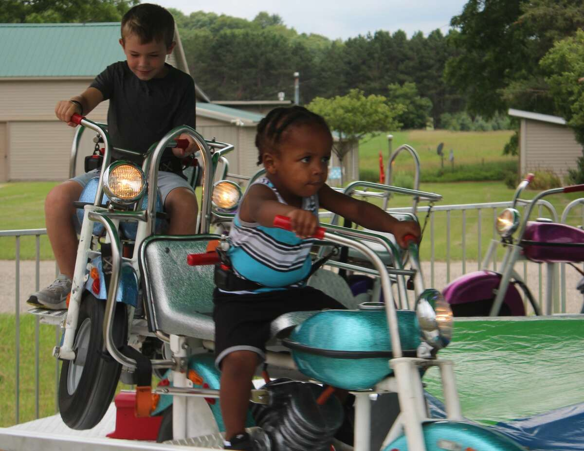 After its noticeable absence one year ago, the Mecosta County Fair made its triumphant return on Monday.