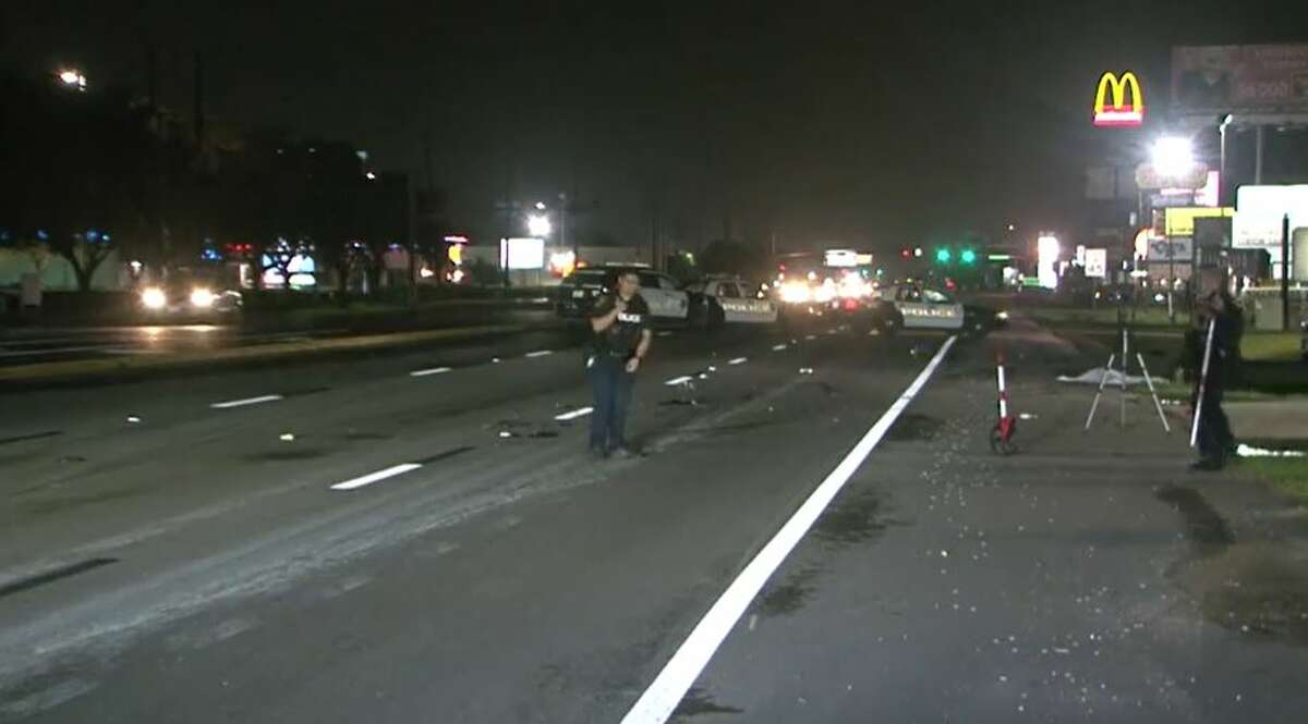 Police investigating a fatal hit-and-run crash late Monday, July 12, on State Highway 6 near Westheimer Road. A female motorcyclist died.