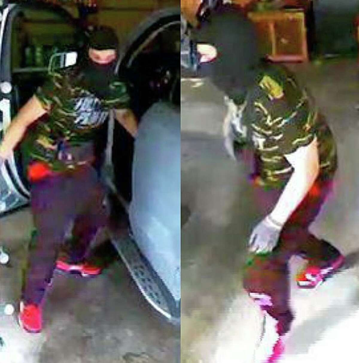 Police say this individual was involved in a vehicle theft from a Manchester, Conn., home on July 10, 2021.