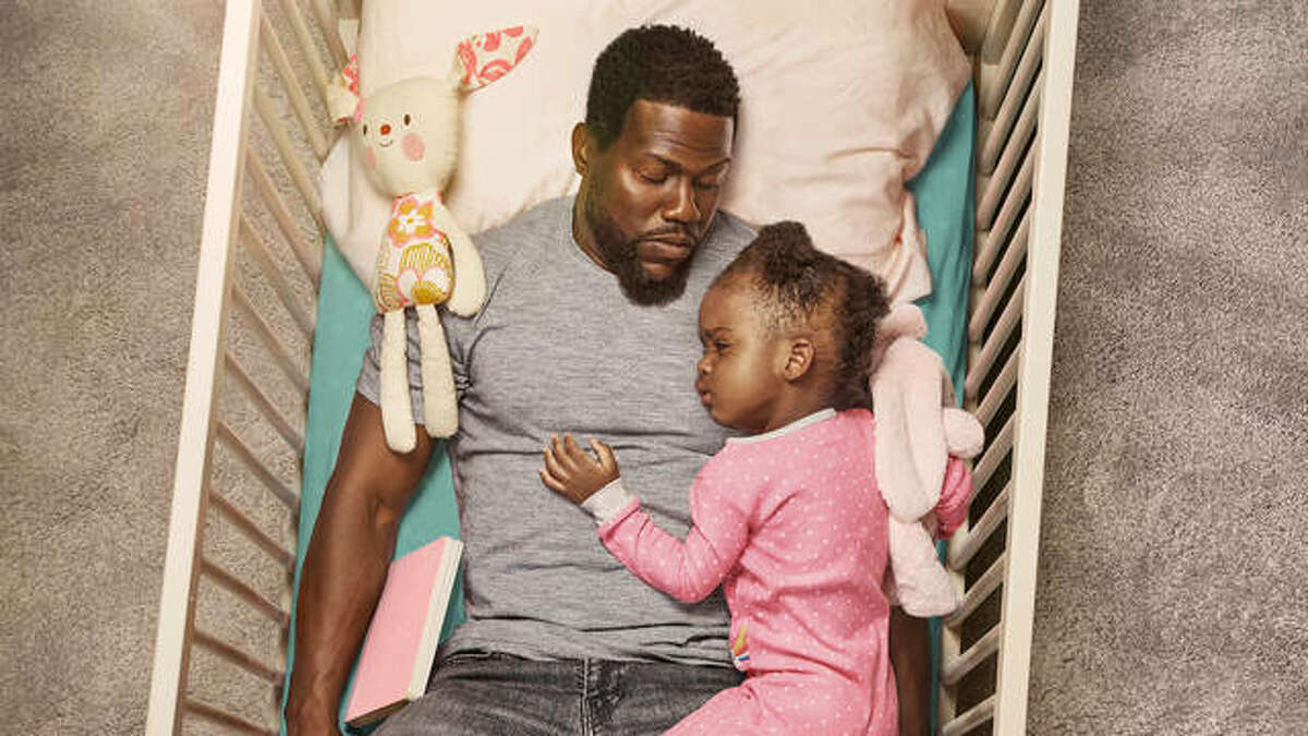 """If """"Fatherhood"""" doesn't bring a tear to your eye, then you are hard as a rock. The Netflix film features Kevin Hart as a father bringing up his baby girl as a single dad after the unexpected death of his wife and high school sweetheart."""