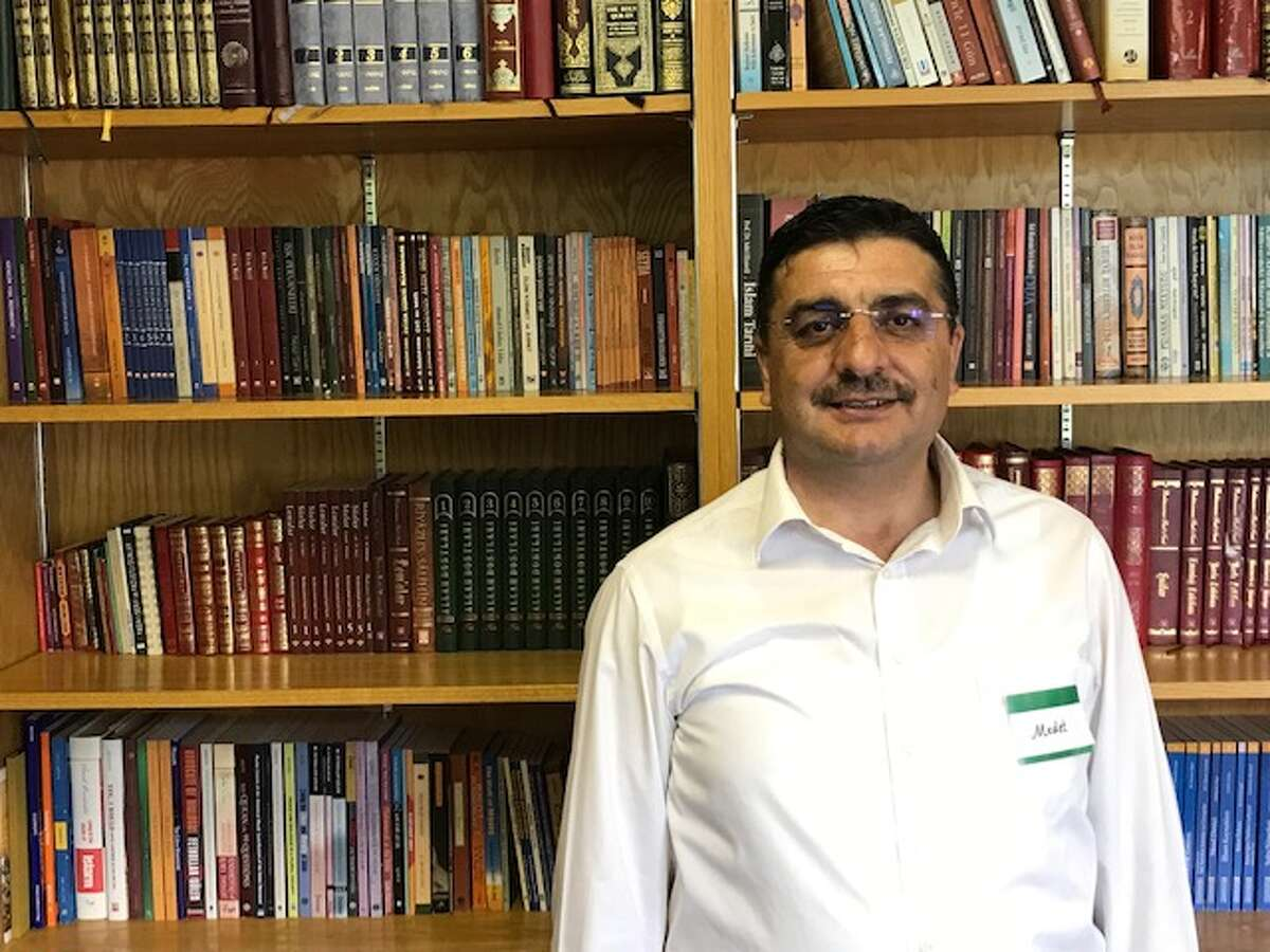 Medet Onel, director of the Albany Community Center in Rensselaer, formerly the Turkish Cultural Center of Albany. Onel fled the purge in Turkey by the authoritarian Erdogan regime. His brother was arrested as a political prisoner and has been confined in Turkey for six years.