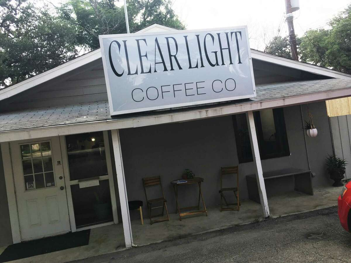 Clear Light Coffee Co. is located across the street from Walker Ranch Park on West Avenue.