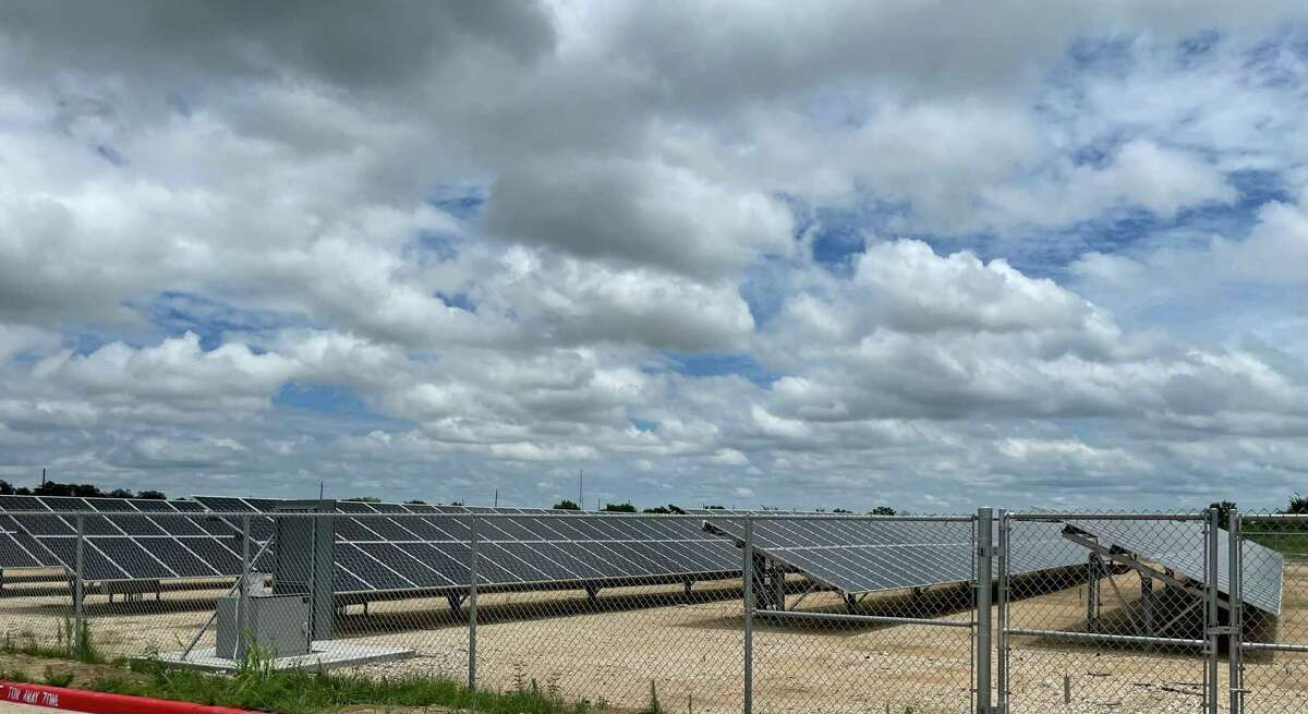 Haskett Junior High is the first-ever school in Katy ISD that will run on solar power.