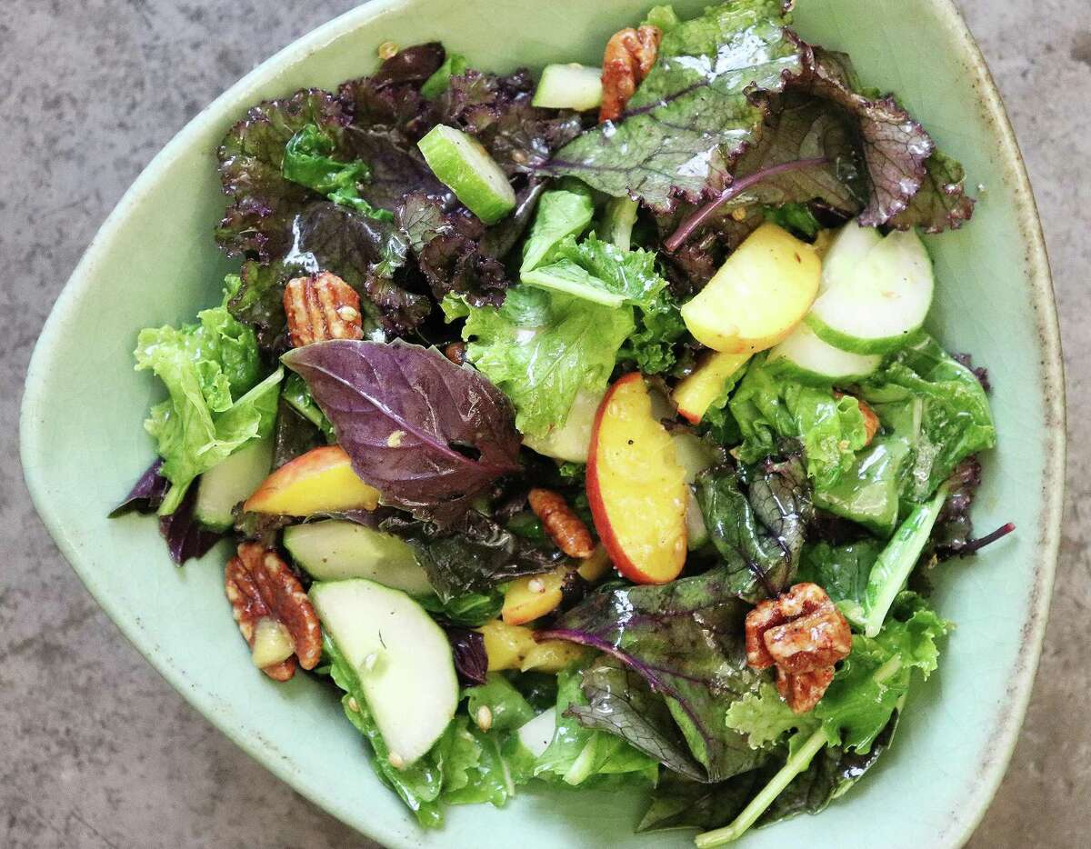 Texas Kale Summer Salad is nutritious and seasonal.