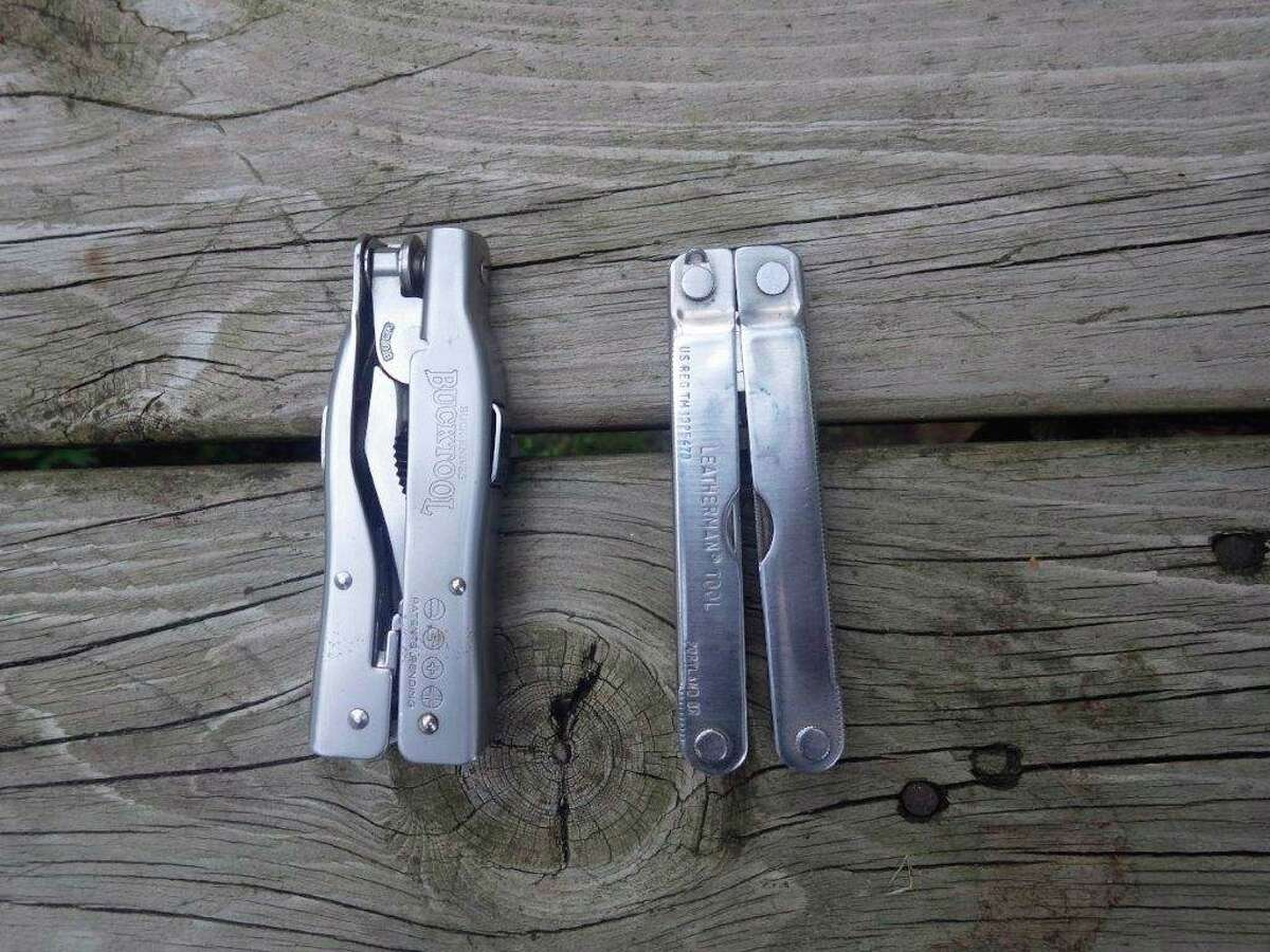 Multi-tools fold up to be quite compact for easy carry. (Tom Lounsbury/Hearst Michigan)