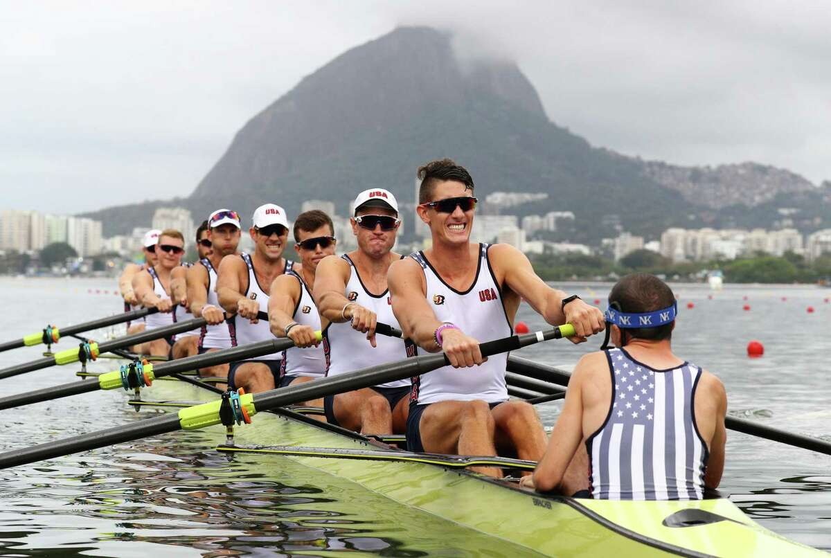 Austin Hack, a native of Old Lyme, Conn. was among the Olympians competing in 2016 in Rio de Janeiro, Brazil. He will return, along with fellow Old Lyme native Liam Corrigan (not pictured). The two Connecticut competitors represent Team USA in the men's eight rowing competition.