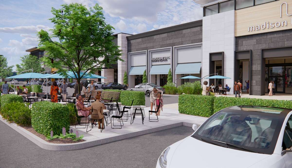 Levcor will bring outdoor gathering areas to Post Oak Plaza, a retail center at Post Oak Boulevard and San Felipe. Renovations will be done in phases and tenants will remain open during construction.