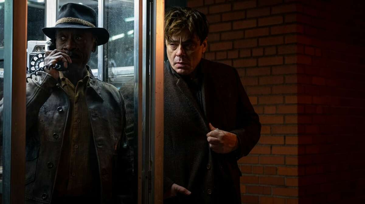 """""""No Sudden Move"""" starring Don Cheadle and Benicio Del Toro is available in theaters and streaming at HBO Max."""