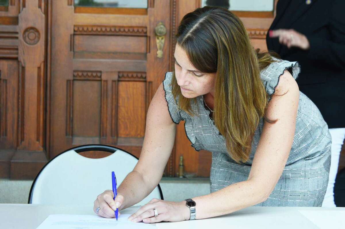 State Rep. Christie Carpino, R-Cromwell, was among legislators who signed a petition to request a special session on the juvenile crime crisis.